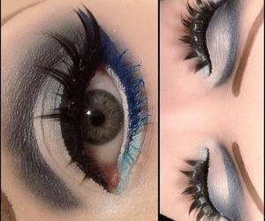 beautiful, make up, and eye lashes image