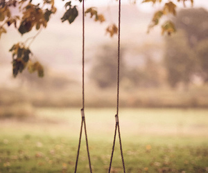 silence, swing, and black and white image