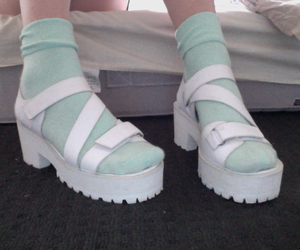 alternative, pale, and sandals image