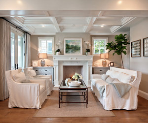 architecture, coffee table, and white interior image