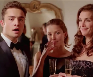 ed westwick, chalet girl, and funny image