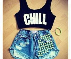 fashion, chill, and outfit image