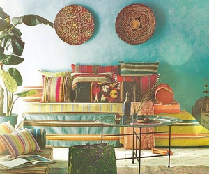 room and bohemian image