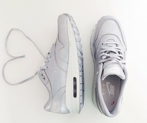 white and nike air max image