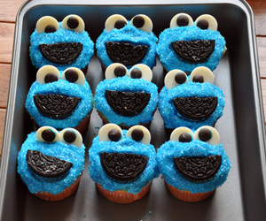 cupcake, oreo, and food image