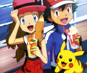 pokemon, ash, and love image
