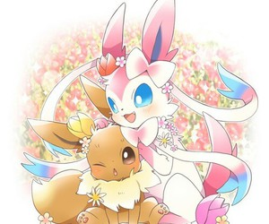 pokemon, eevee, and kawaii image