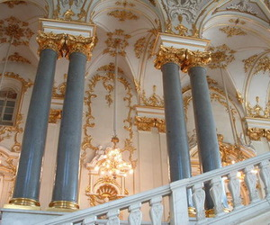architecture, gold, and pale image