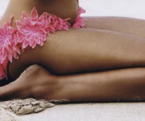 beach, enjoy, and girl image