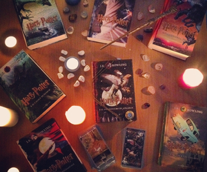 book, books, and candles image
