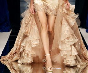 beautiful, dress, and girly image