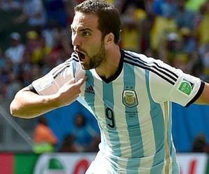 higuain, argentina, and gol image