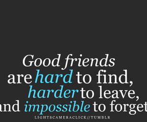 friends, quotes, and impossible image