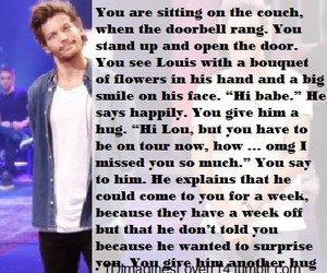 imagine, 1d, and louis tomlinson image