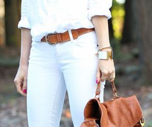 outfit, simple, and white image