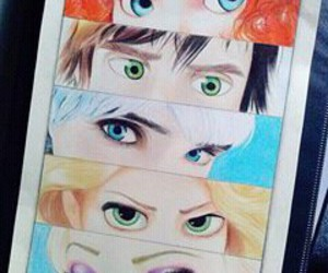 eyes, disney, and jack frost image