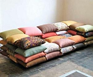 pillow and sofa image