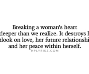 heartbreak, quote, and woman image