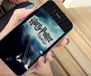 harry potter and iphone image