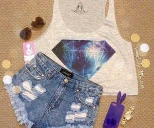 fashion, outfit, and diamond image