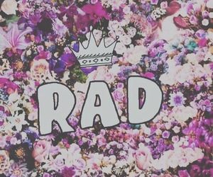 rad, flowers, and floral image
