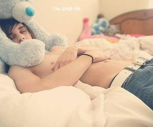 boy, cute, and bear image