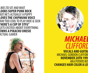 5 seconds of summer and michael clifford image