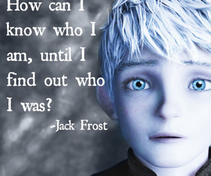 jack frost and quote image