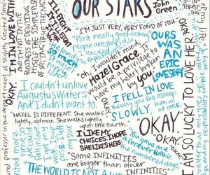 the fault in our stars, quote, and book image
