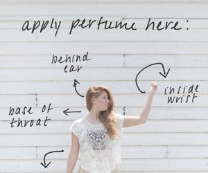 perfume, tips, and beauty image