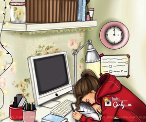 girly_m, study, and school image