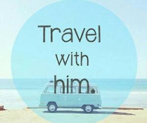travel, summer, and love image