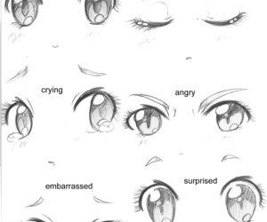 anime, eyes, and manga image