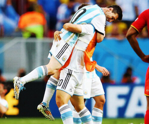 argentina, world cup, and lionel messi image