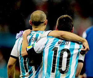 argentina, messi, and world cup 2014 image