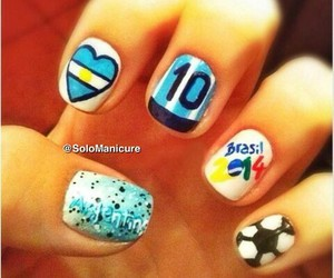 argentina, nails, and cool image