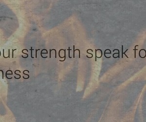 advice, quote, and strength image