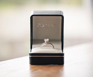 ring, diamond, and pretty image
