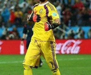 argentina, romero, and world cup image