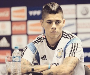 marcos rojo, argentina, and rojo image