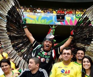 mexico, hombre águila, and fifa worldcup 2014 image