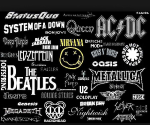 ACDC, bands, and metallica image