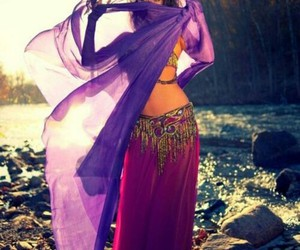 bellydancer and india image
