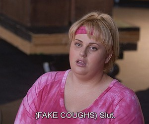 slut, pitch perfect, and fat amy image