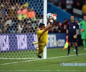 argentina, romero, and football image
