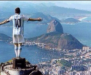 messi, argentina, and brasil image