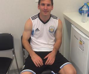 argentina, messi, and futbol image