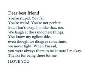 friend, quotes, and bestfriend image