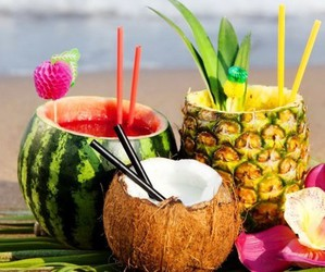 coco, fruit, and healthy image
