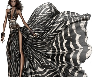 drawing, design, and fashion image